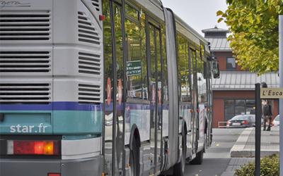 Un bus star au quartier du vert buisson