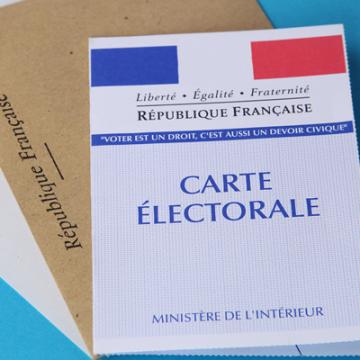 Carte éléctorale